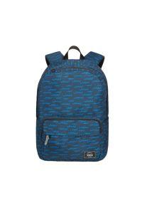 Plecak AMERICAN TOURISTER Urban Groove Lifestyle Niebieski. Kolor: niebieski. Materiał: polar, materiał. Wzór: kolorowy
