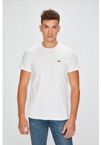 Biały t-shirt Levi's® w kolorowe wzory, casualowy