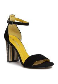 Czarne sandały Karino eleganckie