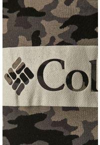 columbia - Columbia - Bluza. Okazja: na co dzień. Typ kołnierza: kaptur. Kolor: czarny. Materiał: dzianina. Styl: casual