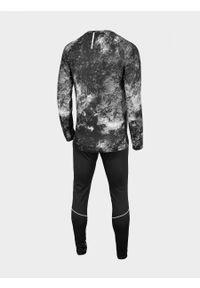 Bielizna szybkoschnąca (góra + dół) męska BIMC600 - głęboka czerń - Outhorn