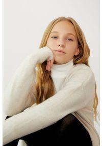 Sweter Mango Kids gładki #9