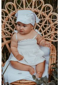 Biała czapka Jamiks gładkie