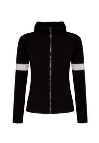Fusalp - Sweter FUSALP FRANCINE. Materiał: włókno, wiskoza, syntetyk. Wzór: ze splotem. Styl: sportowy