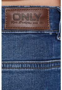 only - Only - Jeansy Paola. Stan: podwyższony. Kolor: niebieski