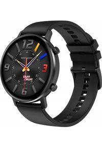 Czarny zegarek smartwatch