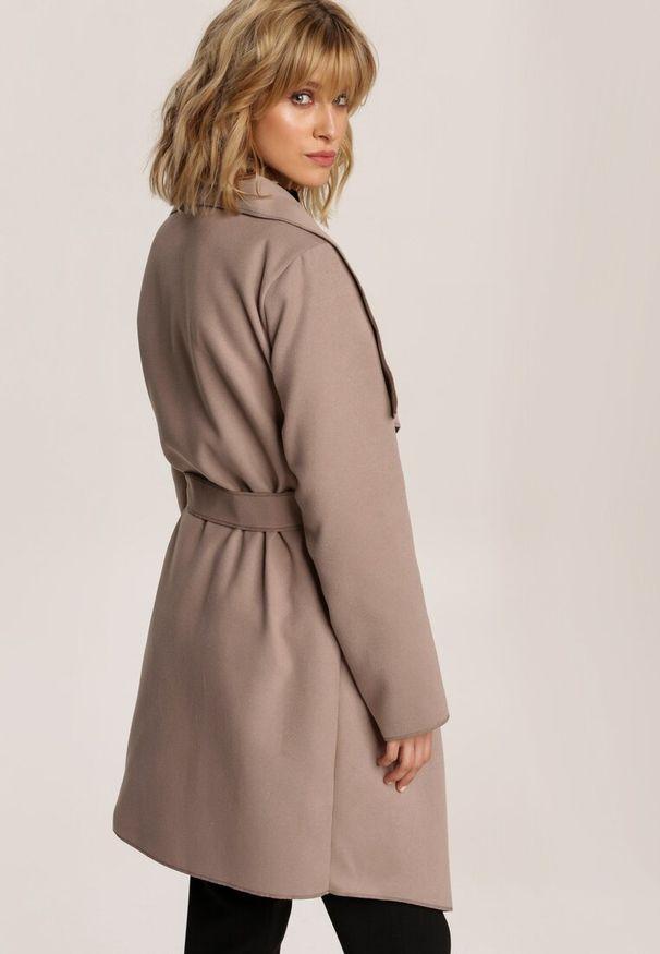Beżowy krótki płaszcz Renee
