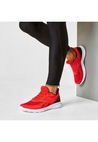 Czerwone buty do biegania Reebok z cholewką