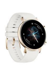 Biały zegarek HUAWEI smartwatch, klasyczny
