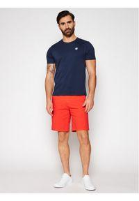 North Sails T-Shirt Logo 692530 Granatowy Regular Fit. Kolor: niebieski