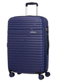Niebieska walizka AMERICAN TOURISTER #1