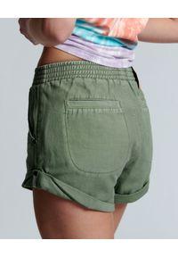 ONETEASPOON - Spodenki damskie Hunters. Kolor: zielony. Materiał: bawełna. Wzór: aplikacja