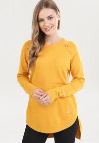 Żółty sweter Born2be