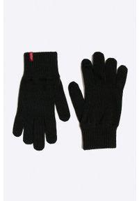 Levi's® - Levi's - Rękawiczki. Kolor: niebieski. Styl: biznesowy