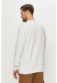 CATerpillar - Caterpillar - Bluza. Okazja: na co dzień. Kolor: biały. Styl: casual