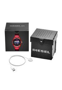Diesel - Smartwatch DIESEL - Fadelite DZT2019 Red/Red. Rodzaj zegarka: smartwatch. Kolor: czerwony
