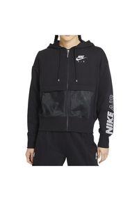 Bluza damska Nike Air CZ8618. Materiał: dzianina, materiał. Wzór: haft, gładki, aplikacja, nadruk