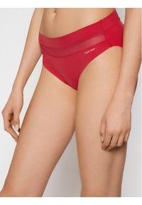 Calvin Klein Underwear Figi klasyczne 000QF6048E Bordowy. Kolor: czerwony