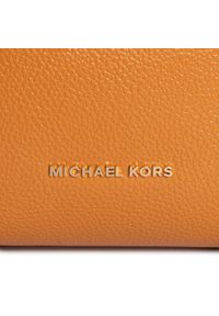 Pomarańczowa torebka worek Michael Kors casualowa
