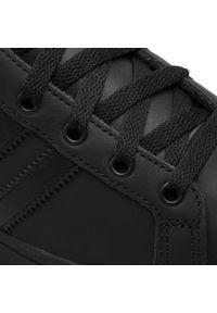 Czarne półbuty Adidas na co dzień, klasyczne, z cholewką