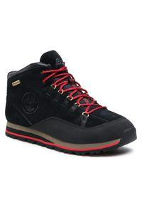 Czarne buty trekkingowe Timberland trekkingowe, Gore-Tex