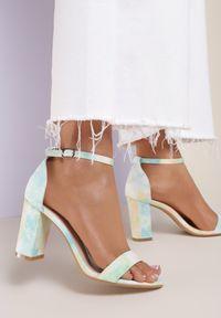 Zielone sandały Renee