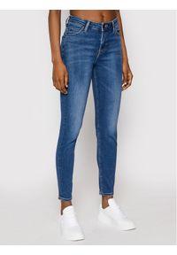 Niebieskie jeansy slim Lee