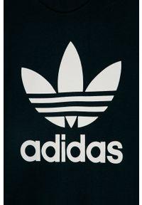 Niebieska bluza adidas Originals bez kaptura, na co dzień
