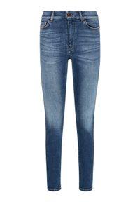 Niebieskie jeansy slim Weekend Max Mara