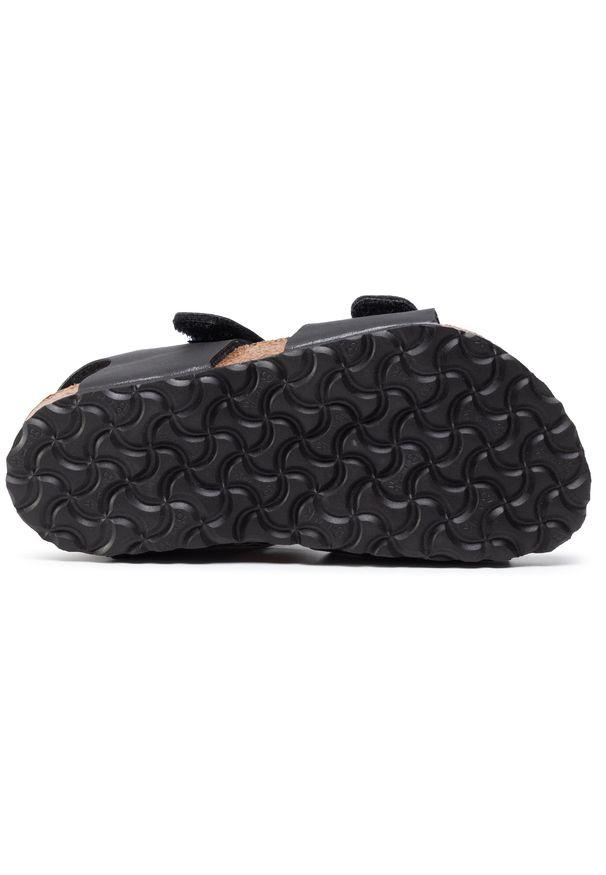Czarne sandały Birkenstock klasyczne, na lato