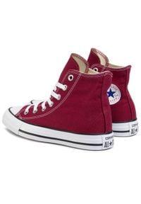 Converse - Trampki CONVERSE - All Star Hi Maroon M9613 Bordo. Zapięcie: pasek. Kolor: czerwony. Materiał: materiał. Model: Converse All Star