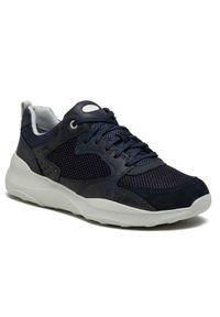 Geox Sneakersy U Allenio A U15AZA 014PT C4002 Granatowy. Kolor: niebieski