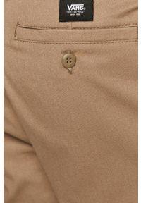Szare spodnie Vans na co dzień, casualowe