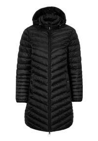 Cellbes Lekki płaszcz Czarny female czarny 62/64. Kolor: czarny. Materiał: guma, polar, puch. Styl: elegancki