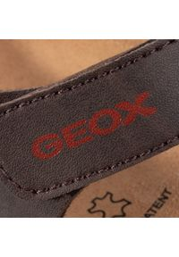 Brązowe sandały Geox na lato