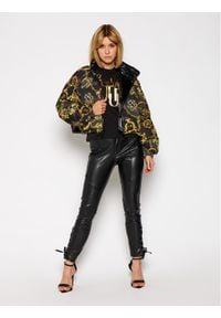 Versace Jeans Couture Kurtka puchowa E5HZB901 Czarny Regular Fit. Kolor: czarny. Materiał: puch