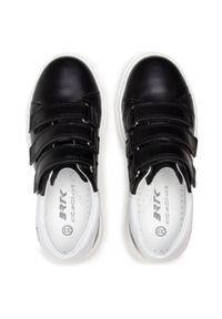 Bartek - Sneakersy BARTEK - 8220-Y04S Czarny. Okazja: na spacer. Zapięcie: rzepy. Kolor: czarny. Materiał: skóra ekologiczna. Szerokość cholewki: normalna