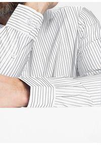 Biała koszula bonprix ze stójką, na co dzień, casualowa