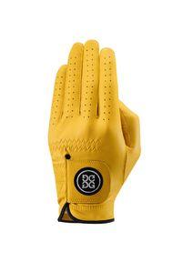 Żółte rękawiczki G/Fore na lato