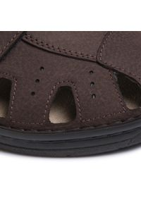 Brązowe sandały Berkemann na lato