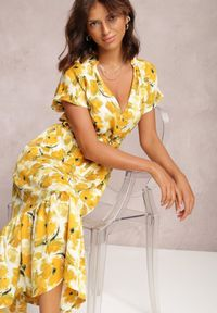 Renee - Żółta Sukienka Sabithoe. Kolor: żółty