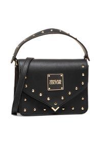 Versace Jeans Couture - Torebka VERSACE JEANS COUTURE - E1VWABE1 71407 899. Kolor: czarny. Materiał: skórzane. Styl: klasyczny