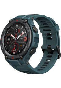 Niebieski zegarek AMAZFIT militarny