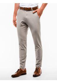 Beżowe spodnie Ombre Clothing klasyczne