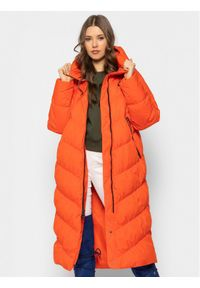 Pomarańczowa kurtka puchowa Nike