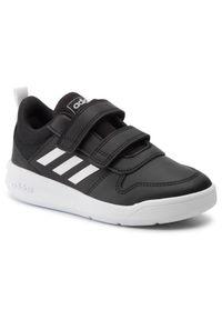 Czarne półbuty Adidas na rzepy, z cholewką, na spacer
