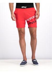 Czerwone spodenki sportowe Tommy Sport