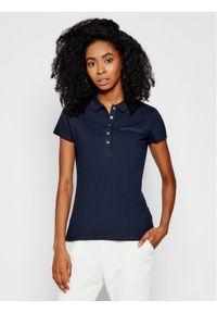 Niebieska koszulka polo TOMMY HILFIGER polo