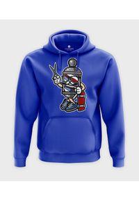 MegaKoszulki - Bluza z kapturem Barber Skater. Typ kołnierza: kaptur