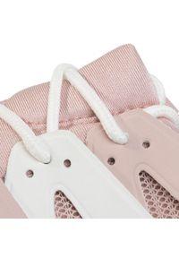 Różowe buty sportowe Kendall + Kylie na płaskiej podeszwie, z cholewką